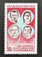 ANNEE INTERNATIONALE CONTRE LE RACISME 1971 - NEUF ** - YT 238 - MI 328 - Upper Volta (1958-1984)