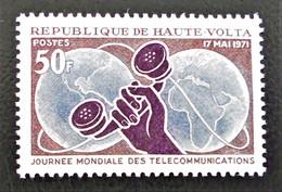 JOURNEE MONDIALE DES TELECOMS 1971 - NEUF ** - YT 239 - MI 331 - Upper Volta (1958-1984)