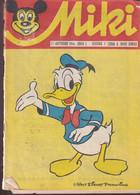 """Miki (Mickey) En Serbo Croate 1966 Exceptionnel Et Rare """"numéro 1"""" Complet 32 Pages Coin Sup Couverture écorné Cf Scan - Slav Languages"""