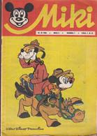 """Miki (Mickey) En Serbo Croate 1966 Exceptionnel Et Rare """"numéro 3"""" Complet 32 Pages Usagé Cf Scan - Slav Languages"""