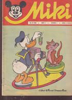 """Miki (Mickey) En Serbo Croate 1966 Exceptionnel Et Rare """"numéro 5"""" Complet 32 Pages état Usagé Complet - Slav Languages"""