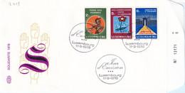Luxembourg 1978. FDC Terre Des Hommes/Tuberculose/Droits De L`Homme (7.439) - FDC