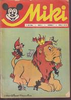 """Miki (Mickey) En Serbo Croate 1966 Exceptionnel Et Rare """"numéro 6"""" Complet 32 Pages état Usagé Complet - Slav Languages"""