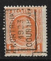 Kortrijk 1923  Nr.  3096A - Rollenmarken 1920-29