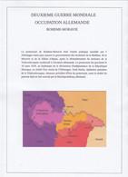BOHEME-MORAVIE  PROTECTORAT  ALLEMANDE 2 Em GUERRE  100 TIMBRES OBLITERES - Gebraucht