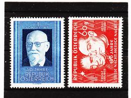 33C45/14 ÖSTERREICH 1948 Michl 927/28 ** Postfrisch SIEHE ABBILDUNG - 1945-60 Ungebraucht
