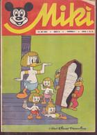 """Miki (Mickey) En Serbo Croate 1966 Exceptionnel Et Rare """"numéro 8"""" Complet 32 Pages Coin Corné Cf Scan - Slav Languages"""