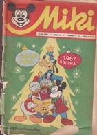 """Miki (Mickey) En Serbo Croate 1966 Exceptionnel Et Rare """"numéro 10"""" Complet 32 Pages Spécial Noël Couvertures Détachées - Slav Languages"""