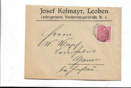 Brief Aus Loeben 1916 - Briefe U. Dokumente