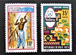INDUSTRIES 1971 - NEUFS ** - YT 240/41 - MI 333/34 - Upper Volta (1958-1984)