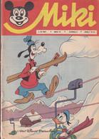 """Miki (Mickey) En Serbo Croate 1967 Rare """"numéro 19"""" Complet 32 Pages Petite Déchirure 4eme De Couv - Slav Languages"""