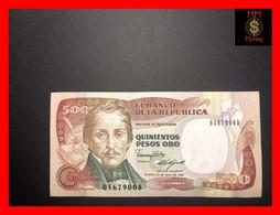 COLOMBIA  500 Pesos Oro 20.6.1989  P. 431  UNC - Colombia