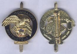 Insigne Du Brevet D'Instructeur Commando - Hueste