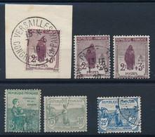 EA-197: FRANCE : Lot Avec N°148 Obl (2)-148**GNO-149/151 Obl - Used Stamps