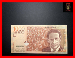 COLOMBIA 1.000 1000 Pesos  7.8.2001  P. 450  Large Size  First Date     UNC - Colombia