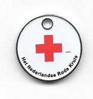 Jeton  De  Caddie  Néerlandais  Association  Het  Nederland  Rode  Kruis - Trolley Token/Shopping Trolley Chip