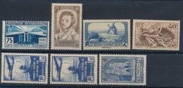 EA-200: FRANCE : Lot** Avec N°215-310-311-315-320(2)-399 - Unused Stamps