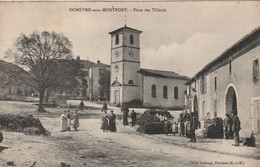 Domévre-sous-Montfort ( Place Des Tilleuls )  Animation - Other Municipalities