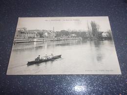 CPA PONTOISE ( 95)) Le Quai Du POTHUIS ANIMEE CLUB AVIRON - Pontoise