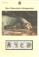 Macau 1995 - WWF Das Chinesische Schuppentier - Komplettes Kapitel Postfrisch MK FDC - Unclassified