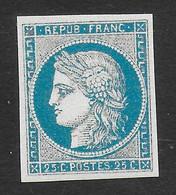 FRANCE 1849/1850 YT 4**- COPIE/FAUX - 1849-1850 Ceres