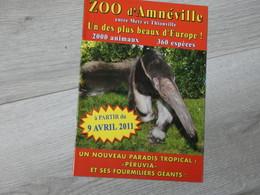 ZOO D' AMNEVILLE 2011. PERUVIA. FOURMILIERS GEANTS. - Autres