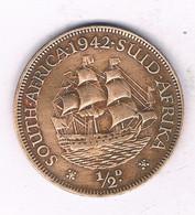 1/2 CENT 1942 ZUID AFRICA /4093/ - South Africa