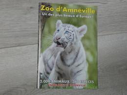 ZOO D' AMNEVILLE . TIGRE BLANC. 20 PAGES. - Autres