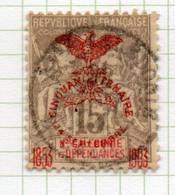 37CRT803 - NUOVA CALEDONIA 1903 , Yvert N. 73 Usato . - Used Stamps