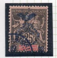 37CRT804 - NUOVA CALEDONIA 1903 , Yvert N. 75 Usato . - Used Stamps