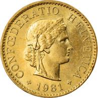Monnaie, Suisse, 5 Rappen, 1981, Bern, TTB+, Aluminum-Bronze, KM:26c - Switzerland