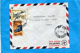 Marcophilie- Lettre -haute Volta->Françe-cad  PO-1967-2-Thematic Stamps Animals-N°172-Peste Bivine+145 Phacochère - Upper Volta (1958-1984)