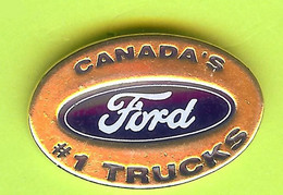 Pin's Automobile Canada's Ford #1 Trucks - 2X19 - Ford
