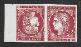 FRANCE 1849/1850 YT 6** TÊTE-BÊCHE - COPIE/FAUX - 1849-1850 Ceres