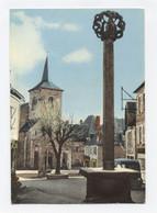 19 MEYMAC LA PLACE DE L'EGLISE   - RECTO /VERSO-- B104 - Otros Municipios
