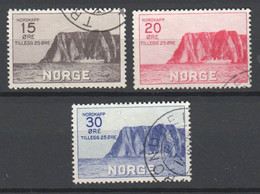 Norwegen 1930 , Gestempelter Nordkapsatz - Used Stamps