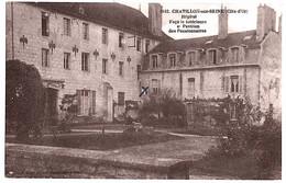 Chatillon Sur Seine Côte D'or Hôpital 1910 état Superbe - Chatillon Sur Seine