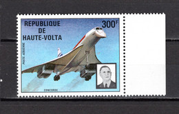 HAUTE VOLTA   PA  N° 168  NEUF SANS CHARNIERE  COTE  5.00€  CONCORDE AVION   GENERAL DE GAULLE - Upper Volta (1958-1984)
