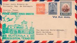 Erstflug PAA Clipper GUATEMALQA - HOUSTEN / TEXAS Guatemala 16.12.1946 - Unclassified