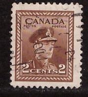 PIA - CANADA :1943-48 - Re Giorgio VI° - Propaganda Per Lo Sforzo Di Guerra - (Yv  206) - Usados