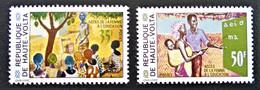 ACCES DES FEMMES A L'EDUCATION 1971 - NEUFS ** - YT 254/55 - MI 347/48 - Upper Volta (1958-1984)