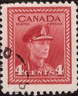 PIA - CANADA :1943-48 - Re Giorgio VI° - Propaganda Per Lo Sforzo Di Guerra - (Yv  209) - Usados