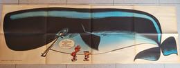 Spirou - Supplément Du N° 1198 Du 30/3/1961-l'oeuf Du Professeur Gigogne Et Baleine 1m12 - Spirou Magazine