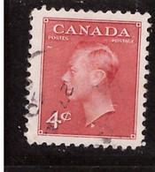 PIA - CANADA :1950 - Re Giorgio VI° - (Yv  234) - Usados