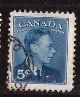 PIA - CANADA :1950 - Re Giorgio VI° - (Yv  235) - Usados