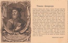 Cartolina - Postcard / Viaggiata - Sent /  Trissino Giangiorgio - Filosofo. - Ecrivains