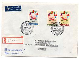 Carta  De Portugal De 1967 Circulada - Covers & Documents
