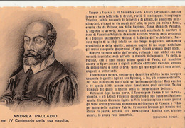 Cartolina - Postcard / Non Viaggiata - Unsent /  Andrea Palladio - Architetto. - Autres Célébrités