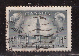 PIA - CANADA :1948 - 100° Del Governo Autonomo - (Yv  228) - Usados