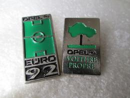 PIN'S    LOT 2  OPEL - Opel